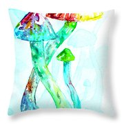 Altered Visions I Throw Pillow
