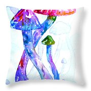 Altered Visions II Throw Pillow