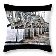 Alton Hydro Plant Throw Pillow