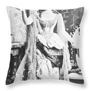 Alva Vanderbilt (1853-1933) Throw Pillow