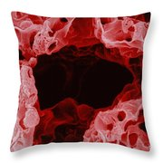 Alveolus In Lung Throw Pillow