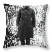 Alvin C Throw Pillow