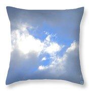 Always Blue Throw Pillow