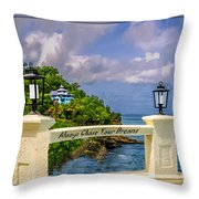 Always Chase Your Dreams Throw Pillow