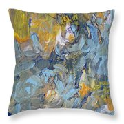 Always In The Wind Throw Pillow