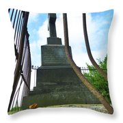 Always Look Up And Never Look Down  Throw Pillow