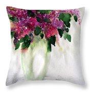 Alyvos - Lilacs Throw Pillow
