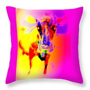 Lets Face It, You Are Dreaming Of A Fucking Amazing Cow Staring Right At You    Throw Pillow