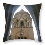 Amalfi - Church Throw Pillow
