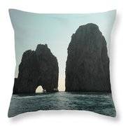 Amalfi Horizon Throw Pillow