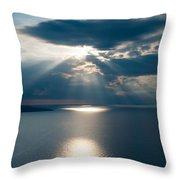 Amalfiana Seascape Throw Pillow