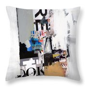 Amalgamation Throw Pillow