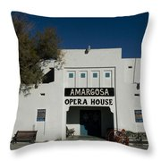 Amargosa Opera House Death Valley Img 0021 Throw Pillow