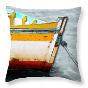 Amarras Throw Pillow