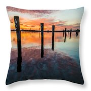 Amazing Bay Throw Pillow