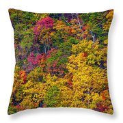 Amazing Cloudland In The Fall Throw Pillow