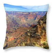 Amazing Colors Of The Grand Canyon  Throw Pillow
