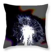 Amazing Dandelion Throw Pillow