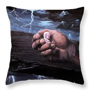 Amazing Grace Throw Pillow by Bill Stephens
