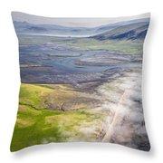 Amazing Iceland Landscape Throw Pillow