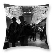 Amazing Penn Station - Otherworldly View Throw Pillow