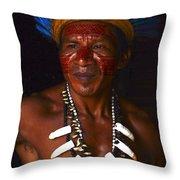 Amazon South America 3 Throw Pillow