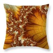 Amber  Throw Pillow by Heidi Smith