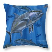 Amberjack In0029 Throw Pillow