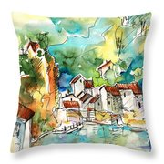 Ambialet 02 Throw Pillow