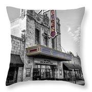 Ambler Theater In Ambler Pennsylvania Throw Pillow
