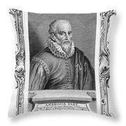 Ambroise Pare (1517?-1590) Throw Pillow