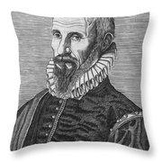 Ambrose Pare (1517?-1590) Throw Pillow