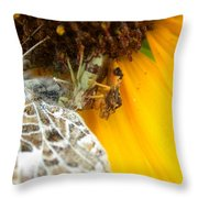 Ambushed Throw Pillow