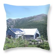Amc Greenleaf Hut Throw Pillow