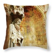 Ameins Cathedral  Throw Pillow