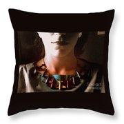 Amelia Portrait Throw Pillow