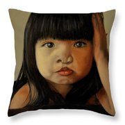 Amelie-an 5 Throw Pillow