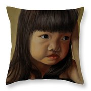 Amelie-an 8 Throw Pillow