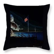 America All The Way 8 Throw Pillow