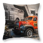 America On Wheels Museum - 4 Throw Pillow
