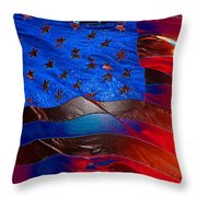America Rising Throw Pillow