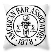 American Bar Association Throw Pillow