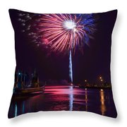 American Celebration Throw Pillow by Bill Pevlor