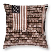 American Colors Of Maine Throw Pillow