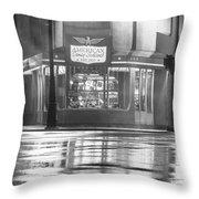 American Coney Detroit  Throw Pillow