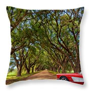 American Dream Drive 2 Throw Pillow
