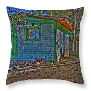 American Dream Throw Pillow