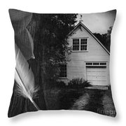 American Dream IIi Square Throw Pillow