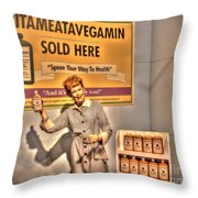 American Entertainment Icons - The First Lady Of Comedy Throw Pillow