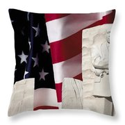 American Excellence Throw Pillow